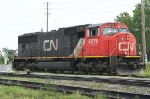 CN 5679 sitting by the coal transloader on Mc Duffie Is.