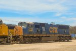 a CSX sd70MAC in CA