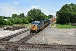 CSX 5426 stares at the ghosts of the PRR and N&W.