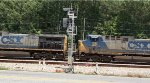 CSX 34 and 74 pass the Union City signals