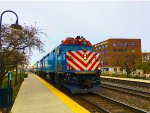 Metra 119 and 114