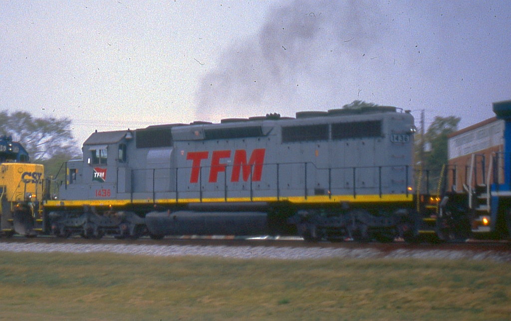 TFM 1436 on NB freight