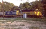 CSX 6561 leading the local back to Pensacola