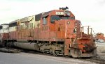Illinois Central SD40A #6013 at East Thomas Yard