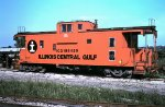 Illinois Central Gulf caboose # 199439 on the cab track
