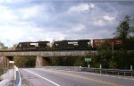 NS NB freight at the Black Wolf creek overpass