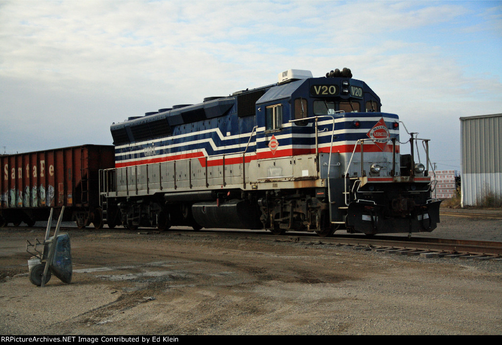 Virginia Railway Express?