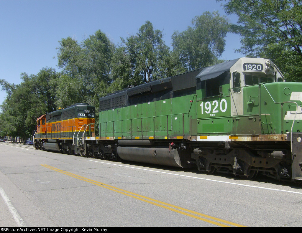 BN 1620 (SD40-2) - RR Picture Archives