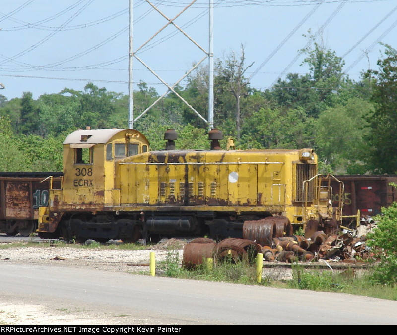 Ecrx is the reporting mark of econo rail a beaumont headquartered